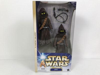 STAR WARS A New Hope Tatooine Scavengers Jawas Hasbro 2003 84728/84940 New In Box