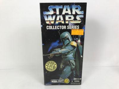 STAR WARS Collector Series Boba Fett Kenner Hasbro 1996 27693/27690 New In Box