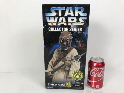 STAR WARS Collector Series Tusken Raider Kenner Hasbro 1996 27758/27754 New In Box