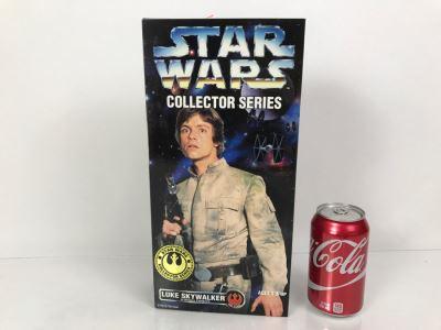 STAR WARS Collector Series Rebel Alliance Luke Skywalker In Bespin Fatigues Kenner Hasbro 1996 27757/27754 New In Box