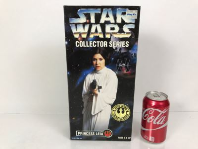 STAR WARS Collector Series Rebel Alliance Princess Leia Kenner Hasbro 1996 27691/27690 New In Box