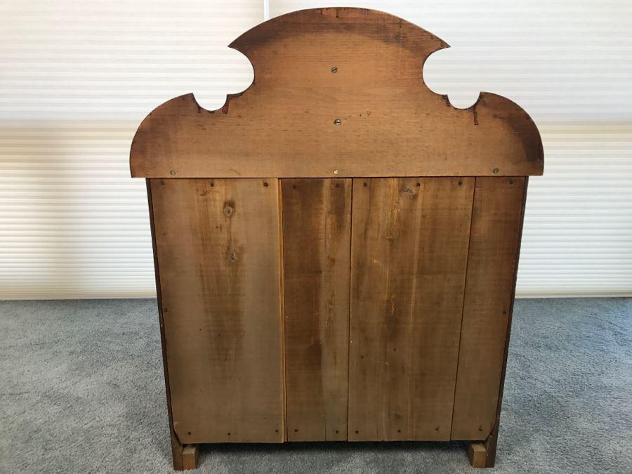 Antique Wooden Wash Basin Cabinet Photo 15