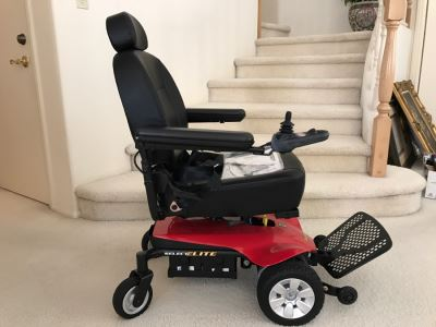 JUST ADDED - JAZZY Select Elite Electric Wheelchair LIKE NEW Retails For $5,750
