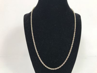 JUST ADDED - Sterling Silver Italian Chain Necklace 12g