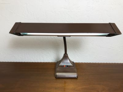 Vintage Metal Adjustable Gooseneck Desk Lamp