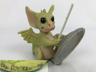 Whimsical World Of Pocket Dragons Real Musgrave Collectible Figurines Collection Sale Mostly Hand Signed By Real Musgrave