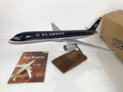 Pacific Miniatures PacMin Precision Scale Model Airplane Of US Airways With Box