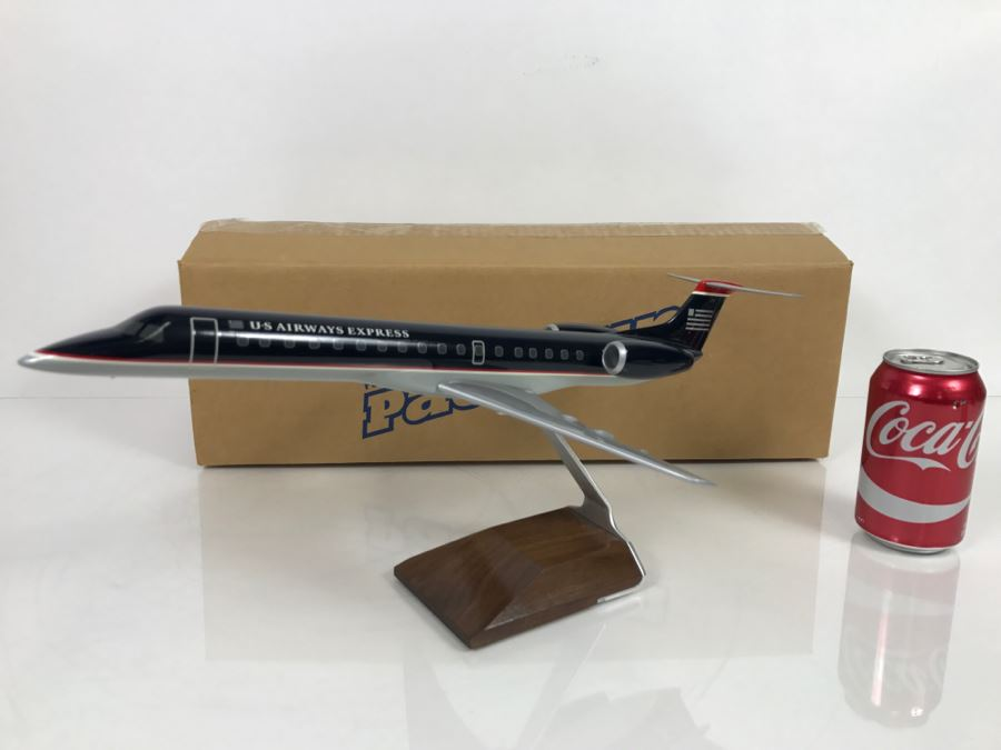 Pacific Miniatures PacMin Precision 1/72 Scale Model Airplane Of US Airways Express ERJ-145 With Box [Photo 1]