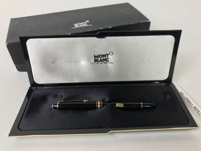 Mont Blanc Meisterstuck 163 Rollerball Pen With Box Made In Germany