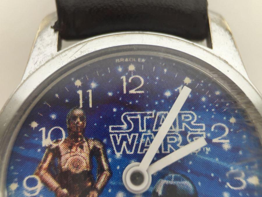Vintage 1977 Star Wars Bradley Watch R2 D2 C3po