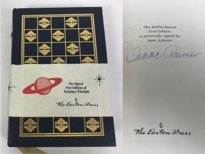 Huge Science Fiction Sci Fi Collectible Book Sale Mostly Signed Books And Easton Press Books