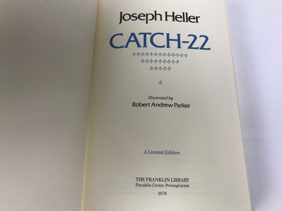 a literary analysis of the lack of comprehensive speech in catch 22 by joseph heller A novel about the darkest side of war is a surprise choice for a book to give us hope - but its laughter is still cheering, even when the comedy is pitch black.