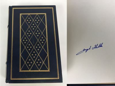Signed Limited Edition Book Catch-22 By Joseph Heller The Franklin Library 1978