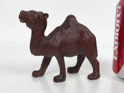 Hand Carved Wooden Camel Carving