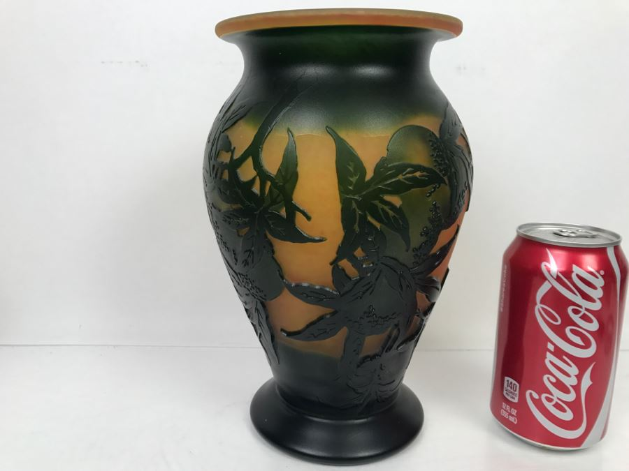 Emile Gallé Art Glass Vase - Expert To Review Authenticity [Photo 1]