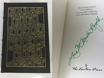 Signed First Edition Easton Press Hardcover Book Barrayar By Lois McMaster Bujold