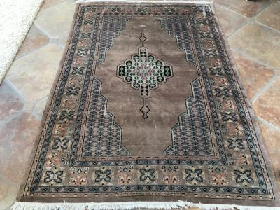 Signed Persian Hand Knotted Area Rug 6' X 49'W