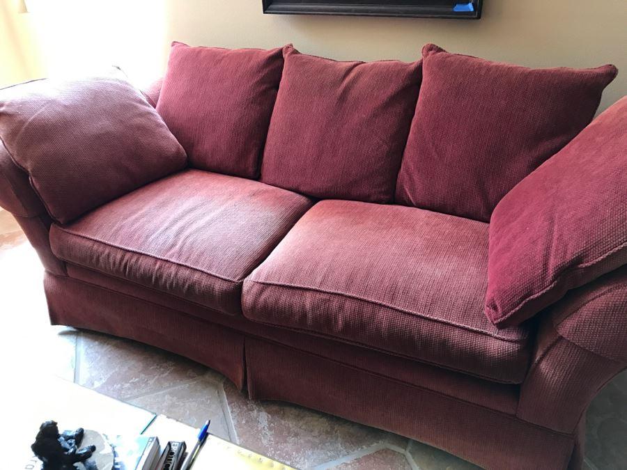 Ethan Allen Upholstered Sofa 89\'W X 39\'D x 28\'H