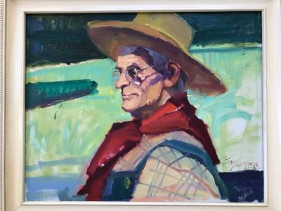 Original Oil Painting By Neil Boyle BSWCA, AICA (1931-2006) 27' X 24'