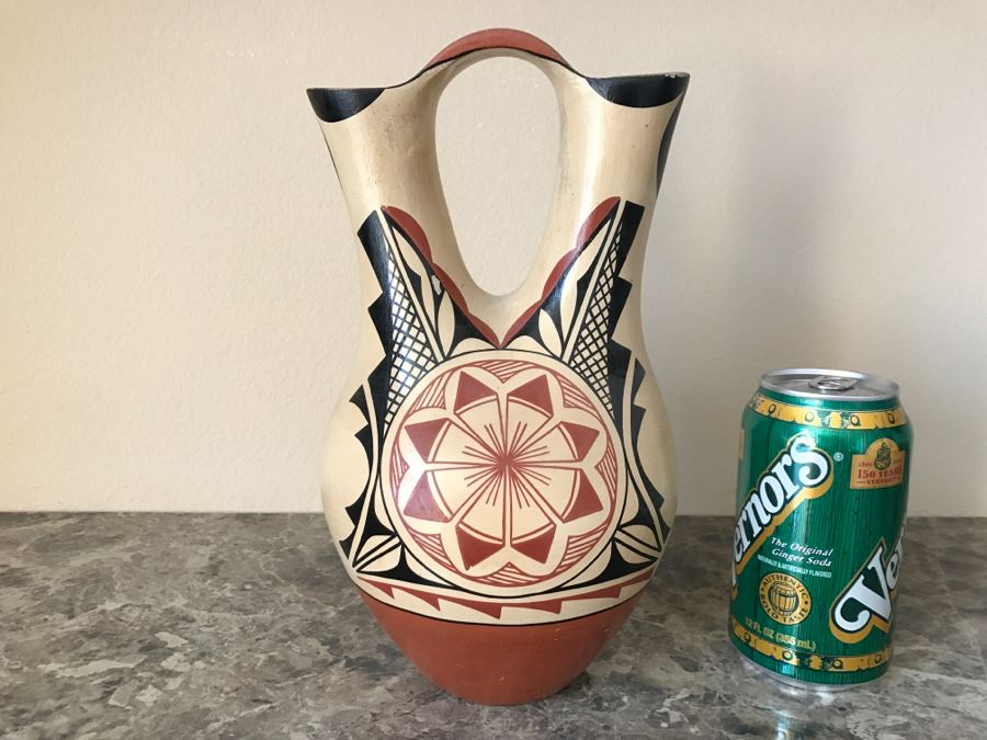 Native American Wedding Vase By Phyllis M Tosa Jemez