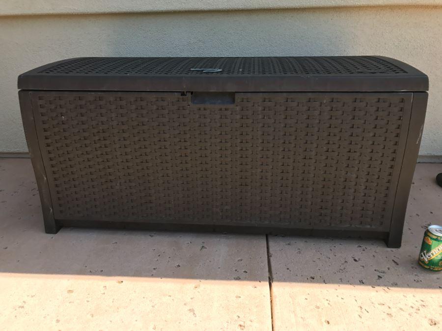Suncast Plastic Outdoor Storage Cabinet [Photo 1] & Suncast Plastic Outdoor Storage Cabinet