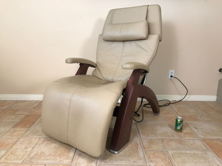 Human Touch Perfect Chair Model PC 500 Zero Gravity Leather Chair Retails  For $2,500 [