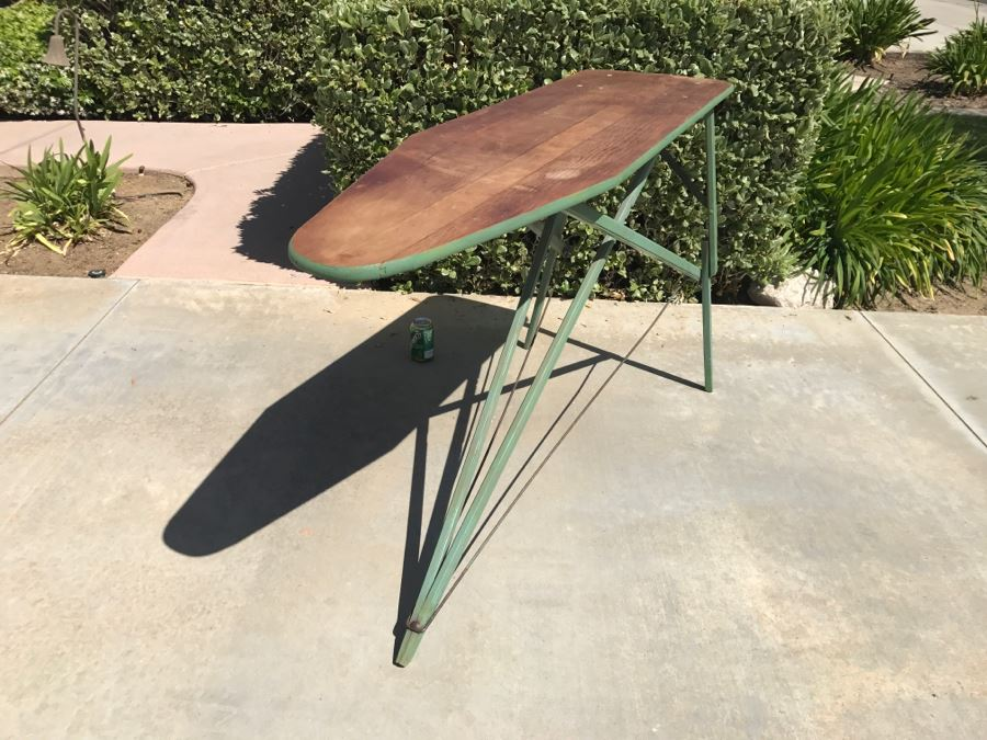 Antique Wooden Ironing Board [Photo 1] - Antique Wooden Ironing Board