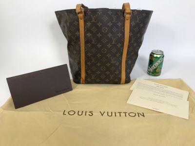 LOUIS VUITTON Monogram Handbag With Dust Jacket