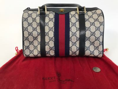 GUCCI Accessory Collection Handbag With GUCCI Dust Jacket