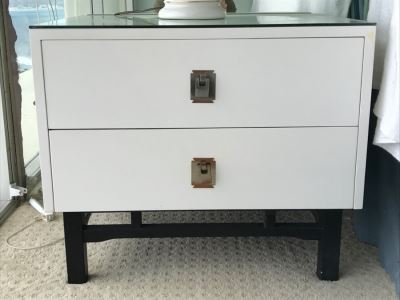 Pair Of Mid-Century Modern Nightstands By Kalpe Inglewood, CA