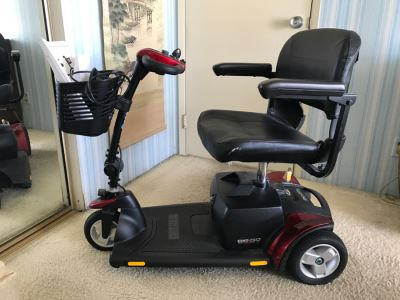 Pride Mobility Scooters Go Go Elite Traveller Plus With Manuals