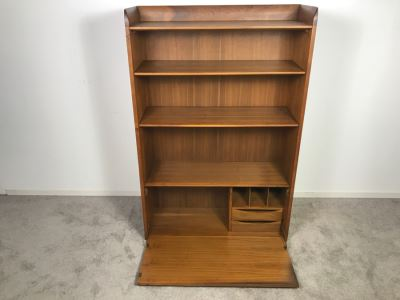 Mid-Century 1958 Drexel Hutch Bookcase Secretary Desk 36'W X 55'H