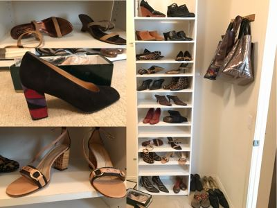 JUST ADDED - Huge Women's Designer Shoe Lot With Cole Haan, Donald J Pliner, Tory Burch, Sam Edelman, Kate Spade And More Size 7.5
