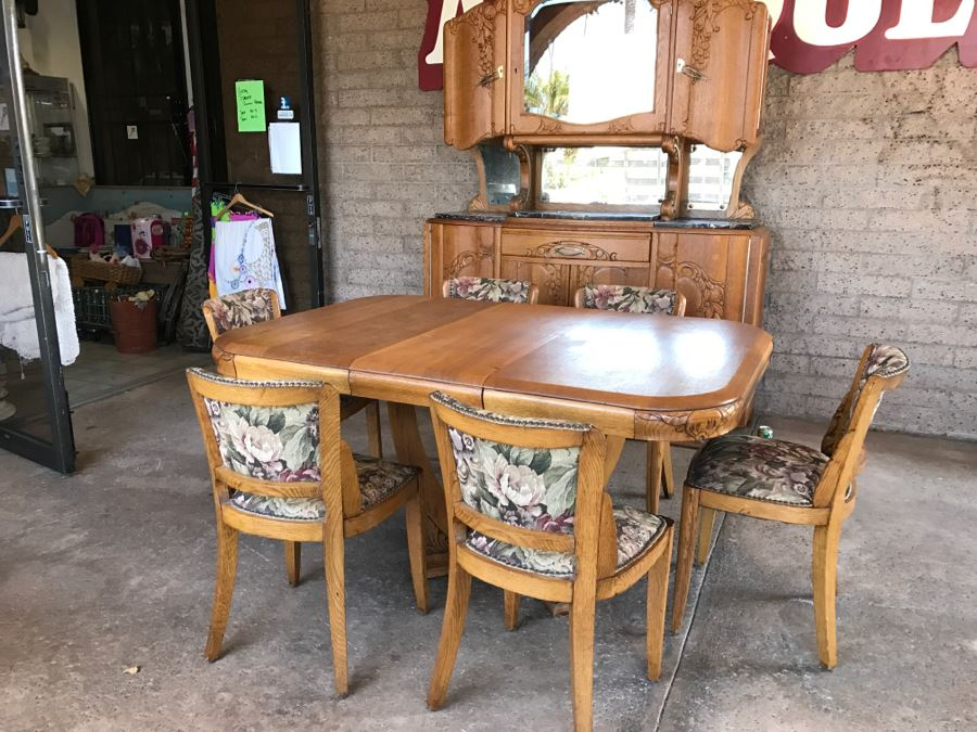 Colonial Dining Room Furniture: Stunning Dutch Colonial Dining Room Set With Nicely Carved