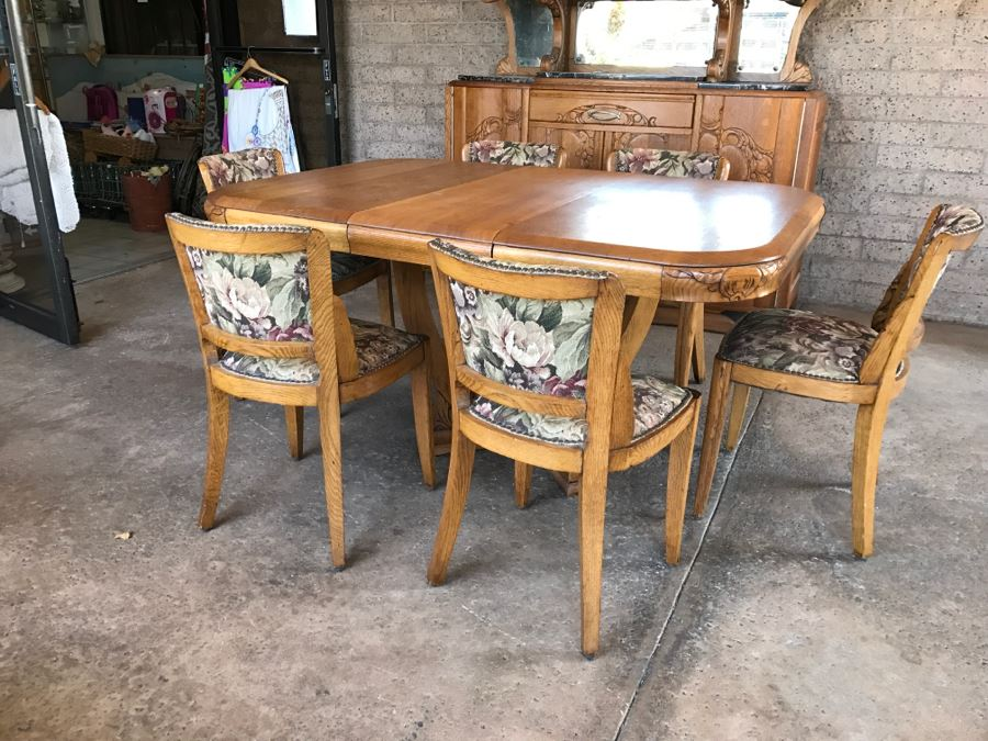 Admirable Stunning Dutch Colonial Dining Room Set With Nicely Carved Machost Co Dining Chair Design Ideas Machostcouk