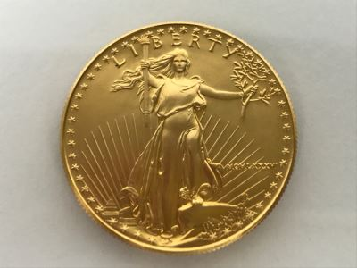 1986 1oz Fine Gold American Eagle $50 Coin Uncirculated - Has Reserve