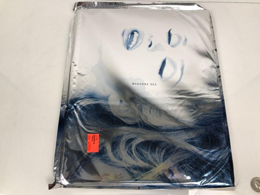 Foil Sealed Copy Of Madonna Sex Book Warner Books