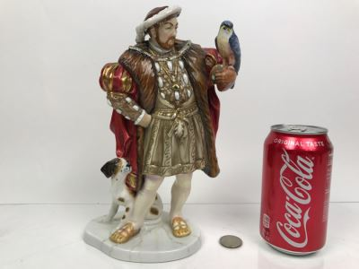 Royal Doulton Henry VIII HN3350 Limited Edition 370 Of 1,991 Retailed For $2,500