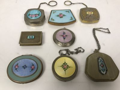 Collection Of Vintage Ladies Compacts