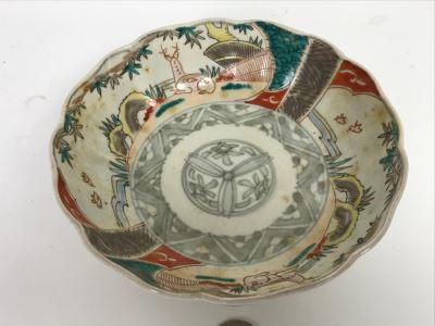 "Vintage Japanese Imari Porcelain Bowl 6"""
