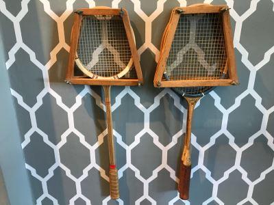 Set Of (3) Vintage Badminton Rackets