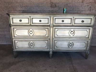 Z Gallerie Chest Of Drawers Dresser With Mirrored Top
