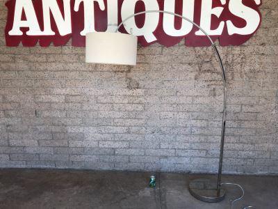 Chrome Arc Floor Lamp