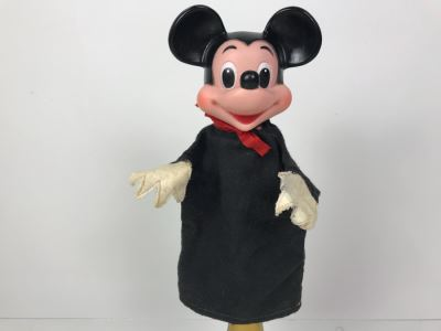 Vintage Mickey Mouse Walt Disney Hand Puppet