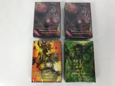 (4) Sealed Vintage 2008 Magic The Gathering Planeswalker Game Cards