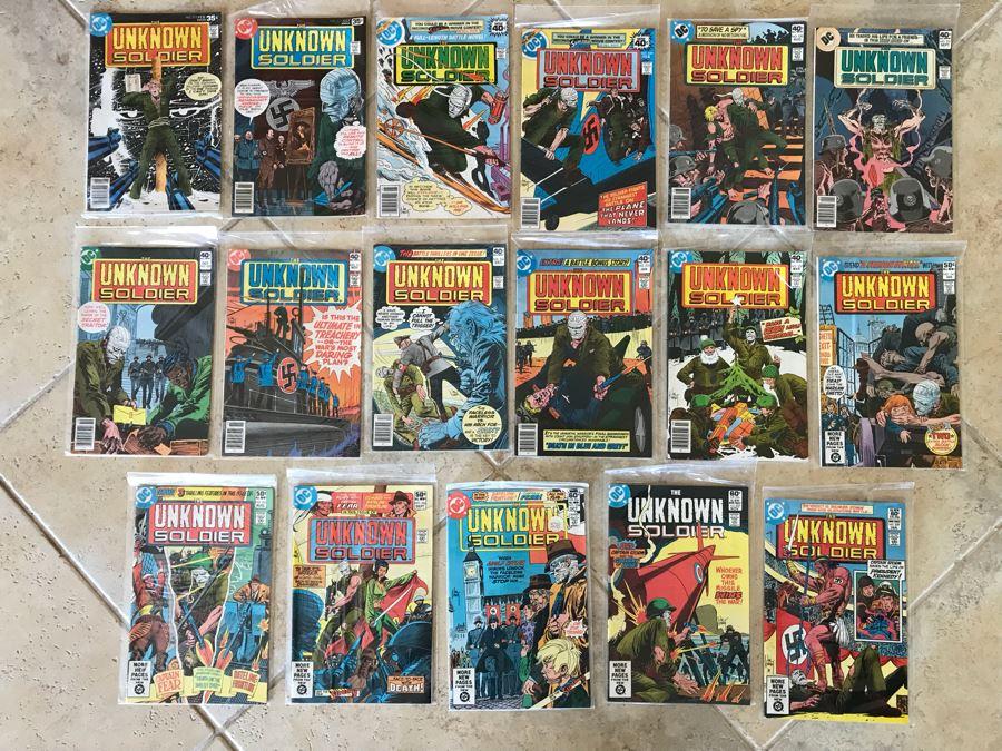 (17) Vintage DC Comics The Unknown Soldier Comic Books [Photo 1]