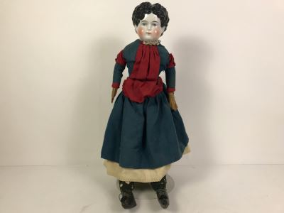 Vintage 22' Porcelain Head Doll