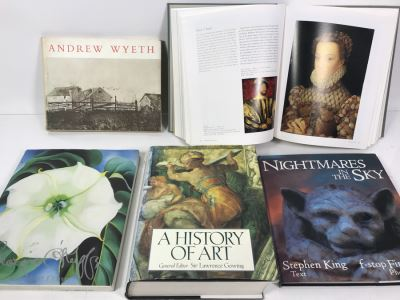 Collection Of Coffee Table Art Books