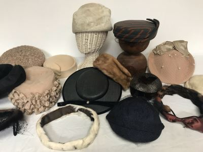 (15) Vintage Women's Hats