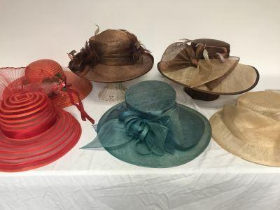 (6) Women's Hats